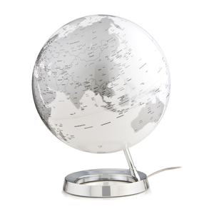 The Illuminated Bright Chrome Globe, stylish and perfect for any room in your house. Available in other colours. Free Shipping on all orders.