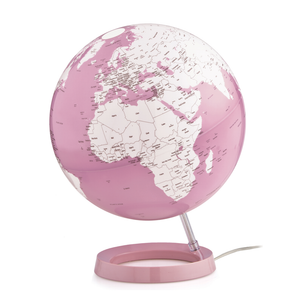 Atmospheres Illuminated Bright Coral Globe (30cm). Available in other styles and colours. Novel Idea Online offer Free Shipping on all orders.