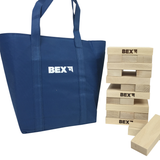 Bex's Giant Tower game is similar to Jenga but its blocks are made from a much higher quality wood and is therefore more hard wearing. Great fun for families, friends and gatherings in general. Available at Novel Idea Online. Free Shipping on all Orders.