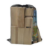 Bex's Kubb Family Game comes with this high quality net carry bag so you can play Kubb whererver you go, be it in the back garden or on the beach. A real Viking Game for modern day Vikings. Available at Novel Idea Onlne. Free Shipping on all Orders.