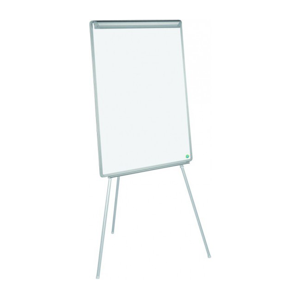 An image of the Bi-Office, Magnetic Easy Tripod Easel. Perfect for use in classroom, office or boardroom presentations. Available at Novel Idea Online. Free Shipping on all orders.