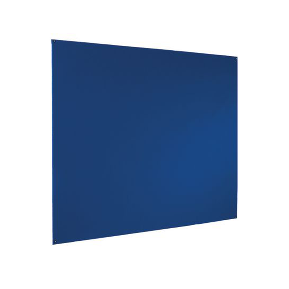 The Bi-Office Blue Felt Notice Board unframed and wall mounted. We at Novel Idea provide Free Shipping on all purchases.