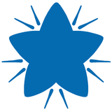 Blue Star – Colop School Stamper. Available at Novel Idea Online. Free UK Shipping.
