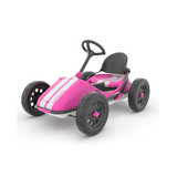 The hot pink variation is definitely eye catching! Chillafish have really covered all bases with this amazin Go-Kart. Make sure to use the pedals to get some real speed. But don't be scared to use the handbrake either! Available at Novel Idea Online. Free Shipping on all UK orders.