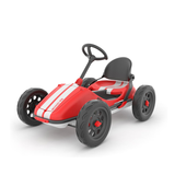 Chillafish's range of Monzi Go-Karts come in various colours, but this stunning Red model definitely goes faster than the other ones if you ask me! Make sure you use the built in hand break to make those 12 inch wheels come to a safe stop. Free UK shipping. Available at Novel Idea Online.