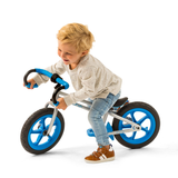 This little guy looks like he's having a great time on his Fixie Balance Bike by Chillafish. The Blue variation is particularly brilliant. Great value for money. Free UK Shipping. Available at Novel Idea Online.