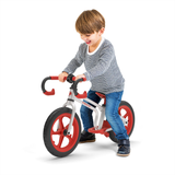 Here's an image of the Fixie Gradual Balance Bike in action. A fun and effective way of helping your toddler or young child gain their balance and confidence on their bike. Available at Novel Idea Online. Free UK Shipping.