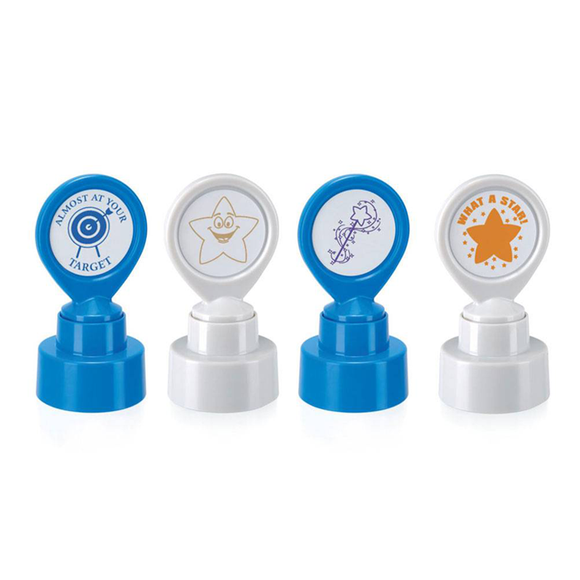 Here we can see a choice selections of Colop's School Stampers. Novel Idea Online provide a further and broader selection. Available at Novel Idea Online. Free UK Shipping.