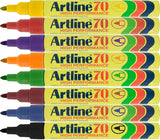 Artline 70 Pens EK-70 10 Colour choices