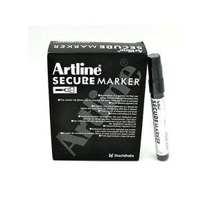 Artline's fantastic Chisel Tip Secure Marker Pens are perfectly suited for redacting sensitive information and keeping your private information private. Free Shipping on all UK orders. Available at Novel Idea Online.