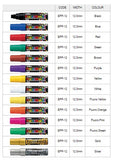 Artline POSTER MARKER 12 - EPP-12 - (Pack of 6)