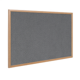 Here we can see the Grey variant of the Bi-Office Earth-It Range Executive Wood Frame Felt Board. Made largely of recycled materials this board is a fantastic and sustainable solution to office presentation problems. Available at Novel Idea Online. Free Shipping on all Orders.