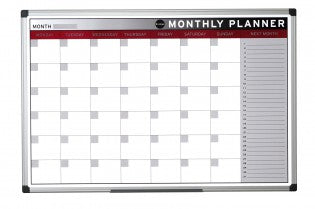 Magnetic Month Planner 900x600mm
