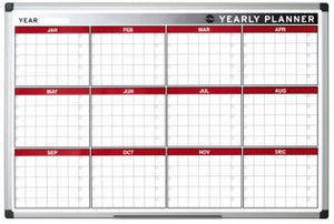 Magnetic Twelve Month Annual Planner