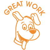 Great Work Puppy – Colop School Stamper. Available at Novel Idea Online. Free UK Shipping.