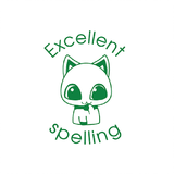 This cute eye-catching cat will be a hit with your school kids. At the same time it'll help motivate and reward them for their Excellent Spelling. Available at Novel Idea Online. Free UK Shipping.