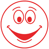 Red Smiley Face – Colop School Stamper. Available at Novel Idea Online. Free UK Shipping.