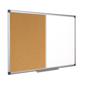 This displays the Maya Corck and Whiteboard Combination Board which is available in various sizes.