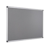 The High-Quality Grey Bi-Office Maya Felt Board in an aluminium frame. Free Shipping and Great Valueon all orders.