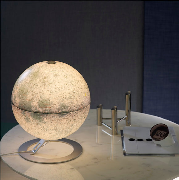 National Geographic, Illuminated Moon Globe (30cm)