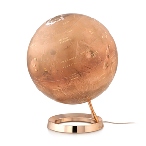 The National Geographic Illuminated Mars Globe is a perfect gift for any aspiring, amateur, or professional astronomer. Available at Novel Idea Online, Free-Shipping on all orders.