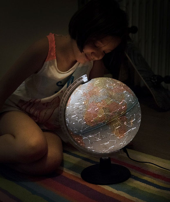 Nova Rico, Night and Day Augmented Reality Illuminated Globe (25cm)