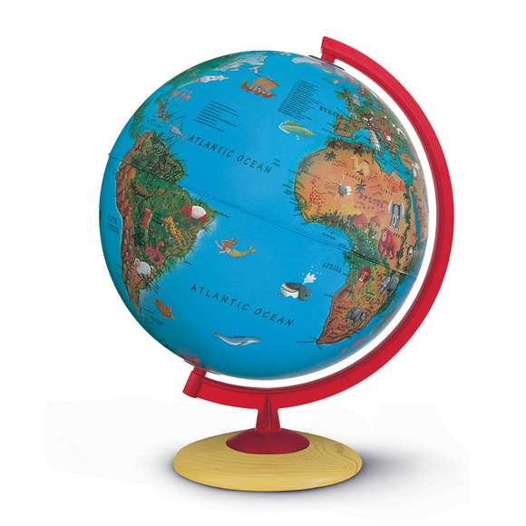 Nova Rico, Illuminated Circus Globe (25cm). Perfect for Children and Schooling. Novel Idea Online offer this product with Free-Shipping.