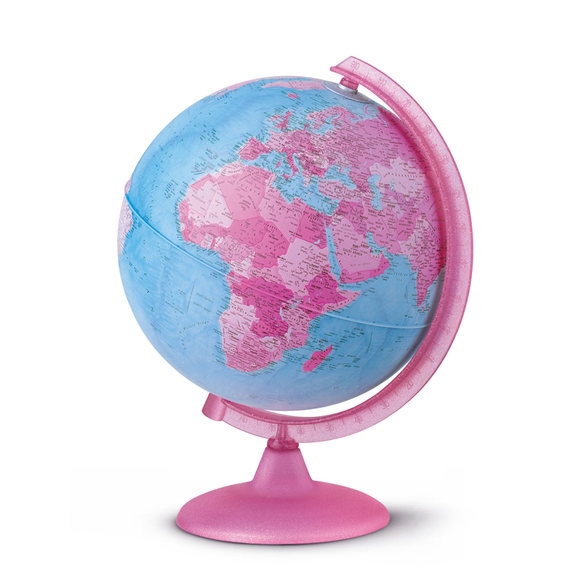 The Hot Pink, Fantastic, AMAZING Nova Rico, Illuminated Pink Globe (25cm) Available at Novel Idea Online. Free Shipping on all Orders.