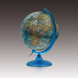 The Night and Day Globe produced by Nova Rico (25cm). This image instead displays the constellations when illumintated. Purchase at Novel Idea Online. Free Shipping on all orders.