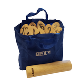 The cotton carry bag allows Bex's Numbered Kubb to be transported easily and packed away very quickly and tidily. Great fun for all the family. Available at Novel Idea Online. Free Shipping on all Orders.
