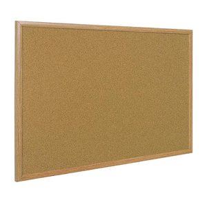 This image shows the Oak Framed Corkboards offered at Novel Idea Online. Available in various sizes.