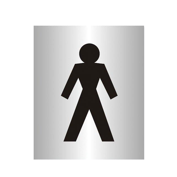 Stewart Superior manufacture a wide range of Office Information Signs. This one in particularly shows the iconography of a male and can be used to mark out gender specific areas such as toilets, showers or gyms. Novel Idea Online offer Free Shipping on all Orders.