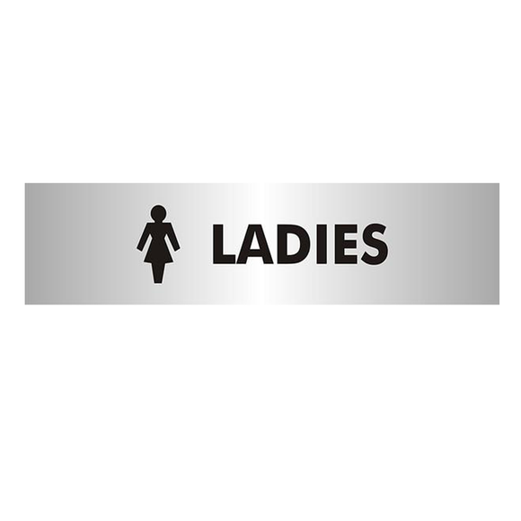 Steward Superior supply a wide range of Office Information Signs to us at Novel Idea Online. This one in particular has the phrase Ladies and matching iconography. Perfect for making workplace toilet facilities. Free Shipping on all Orders.