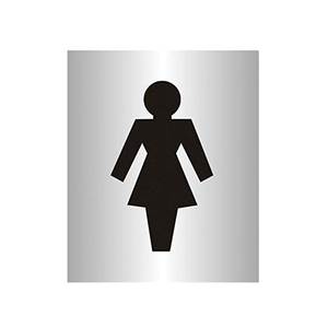 This sign uses the iconography of a woman to illustrate women only areas. It is therefore a very versatile sign and can have a multitude of uses in offices, gyms, school and a number of other workplaces. Available at Novel Idea Online, Free Shipping on all orders.