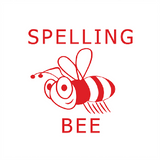 This brilliant buzzing bee stamp is a great way to let your students know that they're spelling bee champions. Free UK Shipping. Available at Novel Idea Online.
