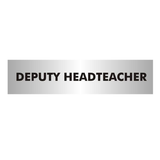 Mark out the Deputy Headteacher's Office with this professional looking door sign. Perfect for large schools where people may get lost. Available at Novel Idea Online. Free Shipping on all Orders.