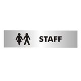 Children can be particularly messy and disgusting, make sure staff toilets stay prestine with this Staff toilet door sign. Available at Novel Idea Online. Free Shipping on all Orders.