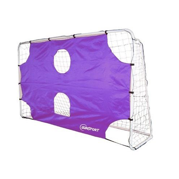 The set up and ready to use Sunsport, Target Football Goal, available in different sizes. Help your children master the basics of football with this fantastic soccer training device. Available at Novel Idea Online. Free Shipping on all Orders.
