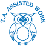 T.A Assisted Work – Colop School Stamper. Available at Novel Idea Online. Free UK Shipping.