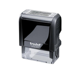 A model of the 4912 Trodat ID Protection Stamp, perfect for helping to protect your ID on important documents. Fantastic for administrative work. Available at Novel Idea Online. Free Shipping on all Orders.
