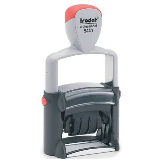 The Trodat Multi-Word Dater Stamp includes 4 Phrases, these are: 'Received', 'Paid', 'Faxed' and 'Posted'. Fantastic for administrative tasks. Great in Offices, Warehouses and Schools. Available at Novel Idea Online. Free Shipping on all Order.