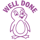 Well Done (Penguin)– Colop School Stamper. Available at Novel Idea Online. Free UK Shipping.