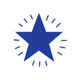 A star is a universal symbol of excellence. Use this Blue Star Stamper to show your students that their work is of stellar quality. Available at Novel Idea Online. Free UK Shipping on all Teacher Stampers and Motivational Stamps.