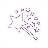 This Teacher Marking Stamp is a great way to reward students. It imprints a purple Wand. Available at Novel Idea Online. Free UK Shipping.