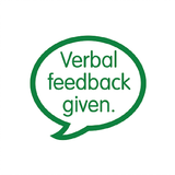 Verbal Feedback is almost as important as written feedback and this stamp allows the student to know that feedback for this work has been given in person and also is a great reminder for yourself. Free UK Shipping. Available at Novel Idea Online.