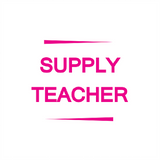 "This Teacher Reward Stamper lets you imprint ""Supply Teacher"" in Pink on any piece of work your students have completed. This can help classroom organization and the success of your students. Free UK Shipping. Available at Novel Idea Online."