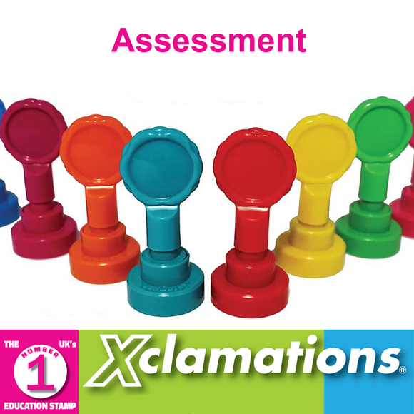 Xclamation's Teacher Stampers are a brilliant way to inspire and motivate students in the classroom. This selection of stamps is perfect for a broad range of assessments. Available at Novel Idea Online. Free UK Shipping.