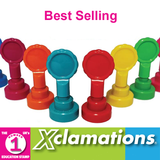 Xclamation's Stamps are a fantastic teaching aid. This selection of their best selling stampers will work in any classroom and are brilliant for almost every subject. Available at Novel Idea Online. Free UK Shipping.