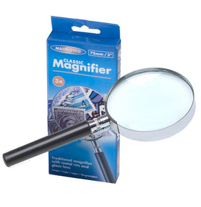 "Magnifico Classic Magnifier 3""/75mm"