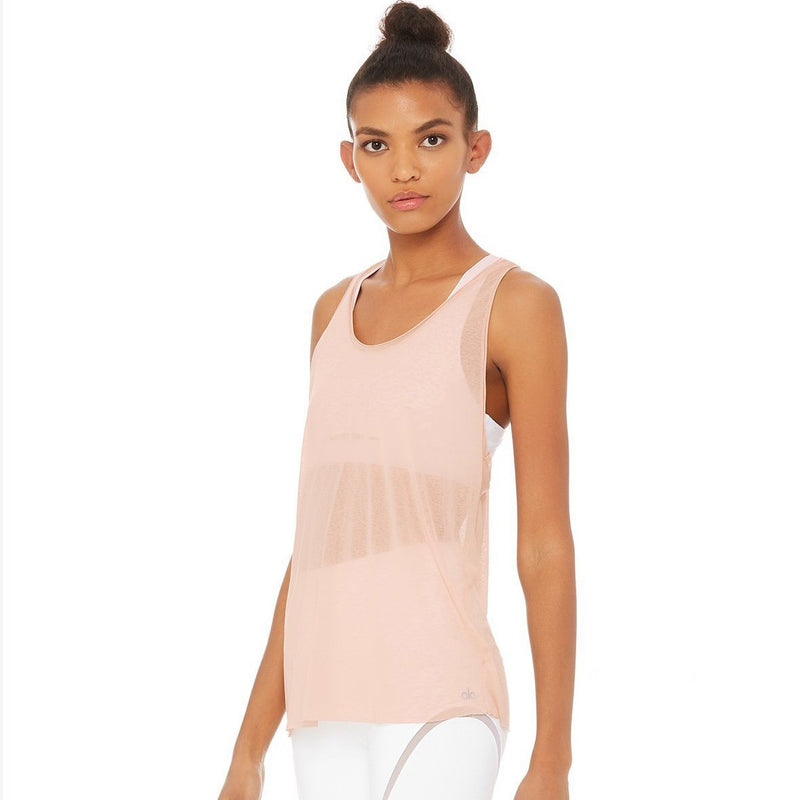 Arrow tank top - Pink
